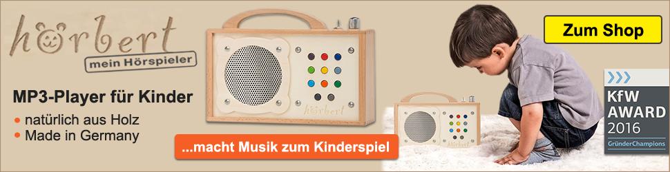 Hörbert.com - macht Musik zum Kinderspiel