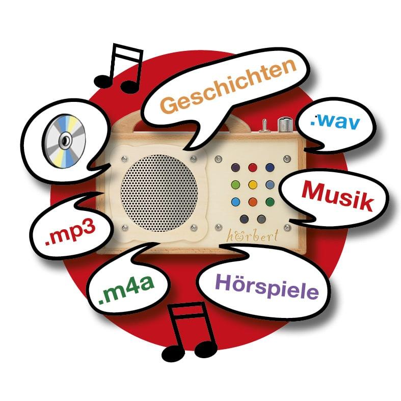 Gratis Hörspiele und Musik für Kinder