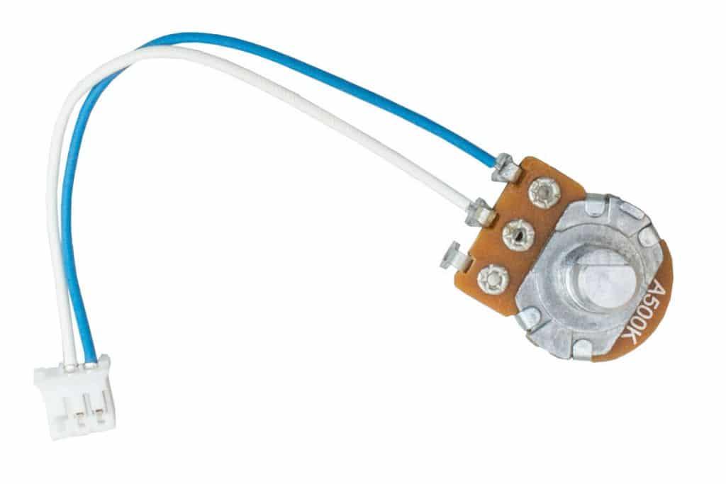 Lautstärkeregler mit Kabel