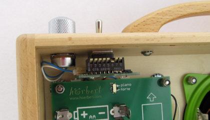 Eingebaute automatische Abschaltung für hörbert