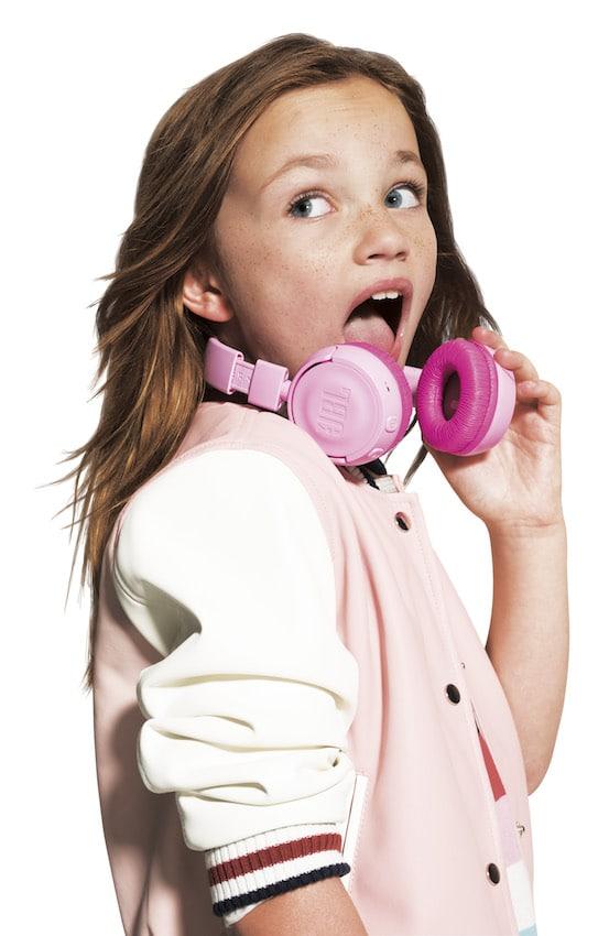 hörbert Bluetooth-Kopfhörer in Pink