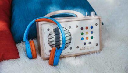 mp3-Player für Kinder mit Bluetooth-Kopfhörer