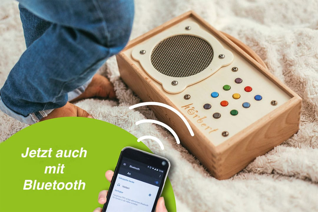Bluetooth-Modul für hörbert