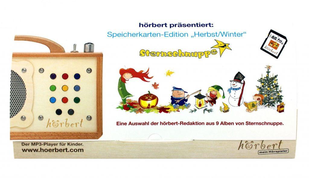 """Speicherkartenmappe """"Herbst/Winter"""" für hörbert"""